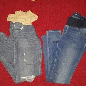 Maternity Jeans Bundle🤰